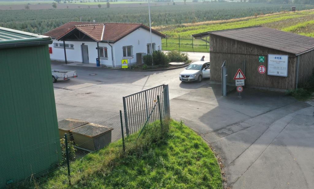Kompostierungsanlage Soest, Gartenabfall